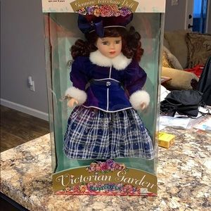 Collectible porcelain doll 18""